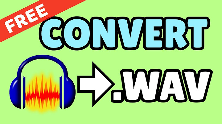 convert soundmusic to wavwave  easy quick tutorial