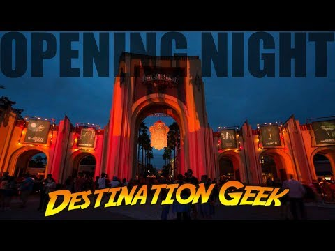 Halloween Horror Nights HHN25 Universal Studios Orlando Opening Night Media Event!