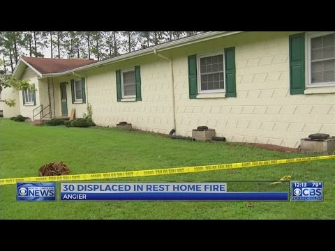 31 residents of Harnett County rest home displaced after fire destroys building
