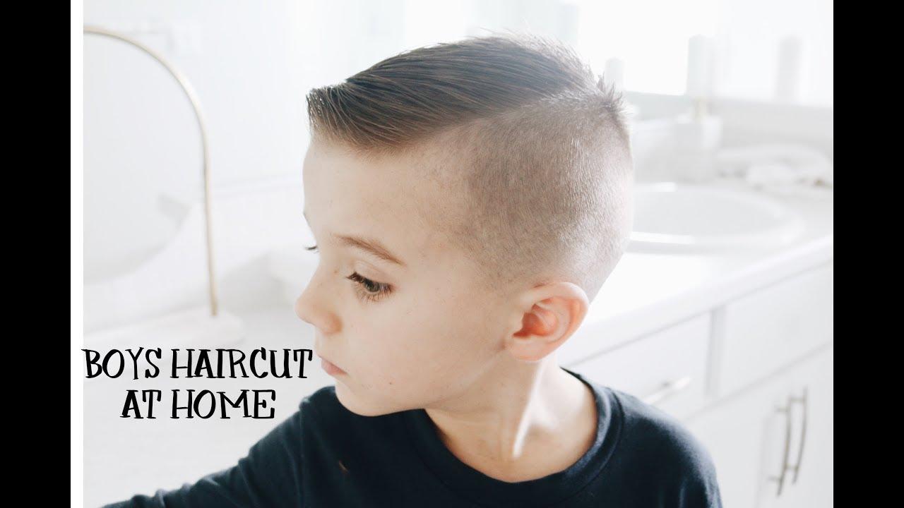 Modne Fryzury Dla Chłopców Jak Ostrzyc Dziecko świat