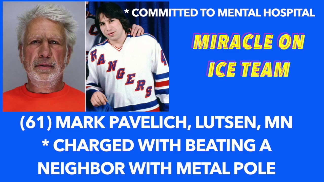 Mark Pavelich, member of 'Miracle on Ice' Olympic hockey team ...