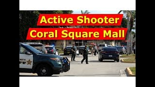 scene of the fatal shooting at coral square mall in coral springs fl