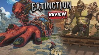 Extinction: REVIEW (Titans on Attack) (Video Game Video Review)