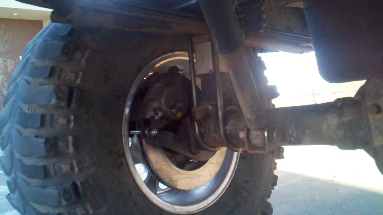 Chevy solid axle conversion