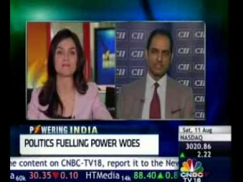 Panel discussion on 6 August 2012 in partnership with CNBC on Power Reforms & the Grid Failure