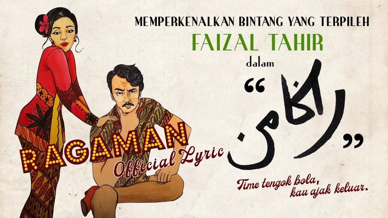 ragaman-official-lyric-faizal-tahir-faizal-tahir