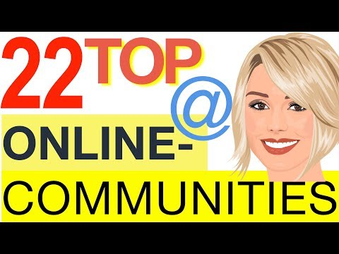 Online Communities – TOP 22