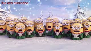 Minions  Santa Claus Christmas funny whatsapp status Video