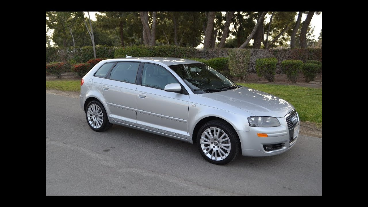 sold 2006 audi a3 turbo wagon silver for sale by corvette mike anaheim california 92807 youtube. Black Bedroom Furniture Sets. Home Design Ideas
