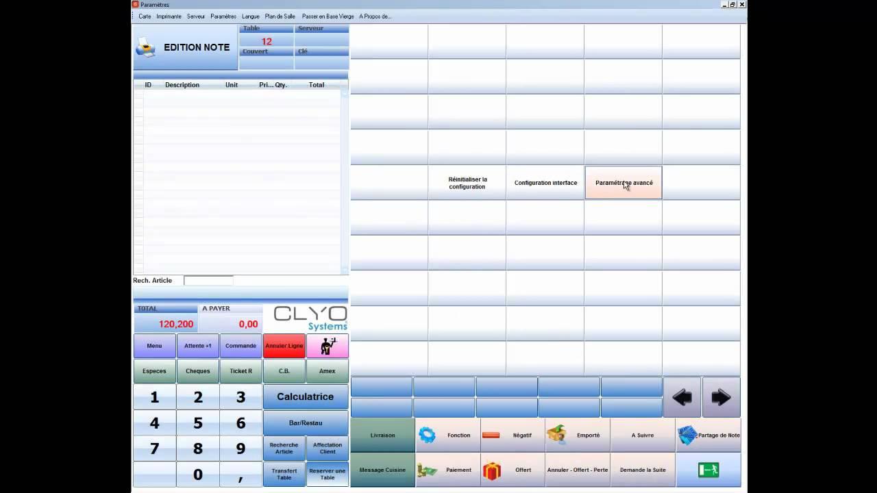 logiciel de caisse clyo systems