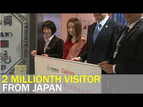 Taiwan Welcomes Two Millionth Japanese Visitor Of The Year | Taiwan News | RTI