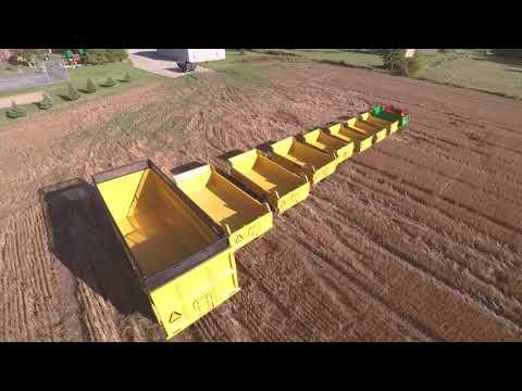 Farm Dump Trailers Manufactured by Berkelmans Welding and Custom Manufacturing Inc.