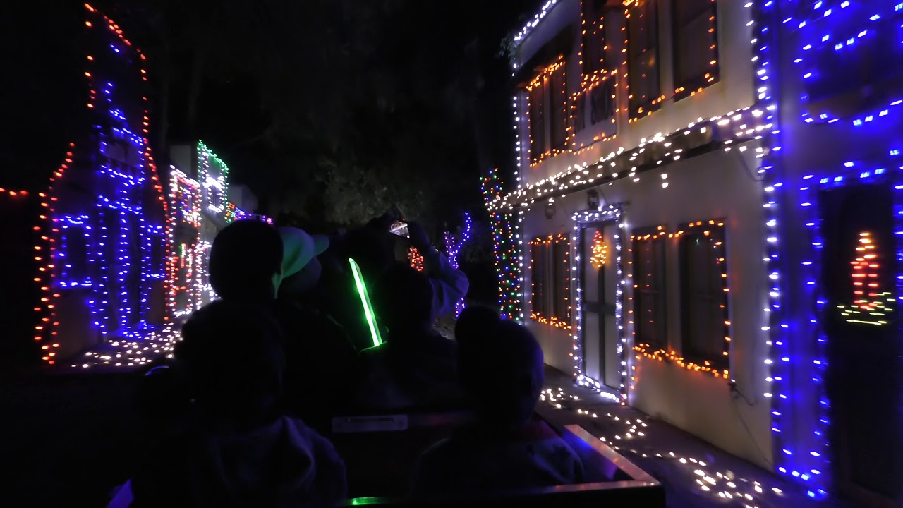 Griffith Park Southern Railroad Holiday Christmas Light
