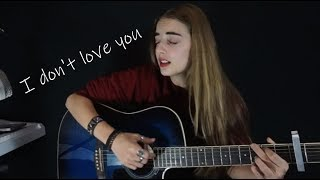 💔 My Chemical Romance - I Don't Love You | LIVE | Cover by Aries [subtítulos]