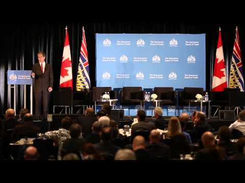 Dr. Ron Walls at VBOT Health Care Forum 2014