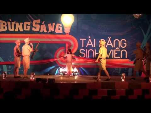Kịch múa  Biết ơn chị Võ Thị Sáu    K56QLA