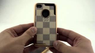 Обзор чехла Louis Vuitton (Луи Виттон) для iPhone 4/4s