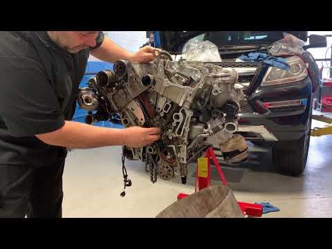 Mercedes Benz Engine Repair & Service Shop