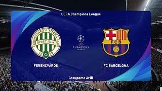 Ferencvaros vs Barcelona - UEFA Champions League 2020 - PES 2021 Gameplay PC
