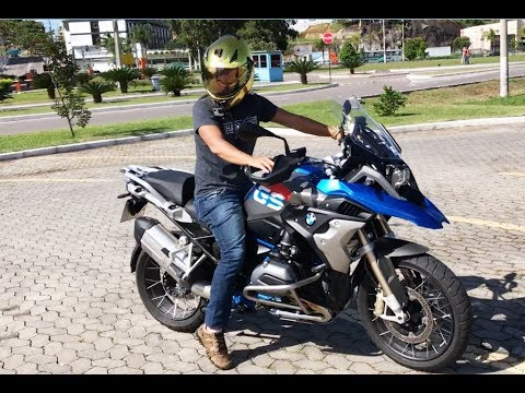 nova bmw r1200gs 2018 ligou sem chave youtube. Black Bedroom Furniture Sets. Home Design Ideas