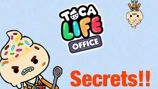 Toca life office | secrets!!