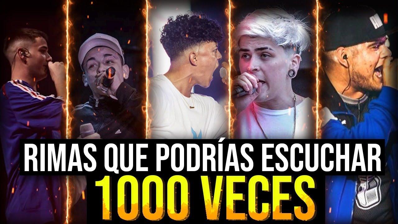 RIMAS que PODRIAS ESCUCHAR 1000 VECES!!!!