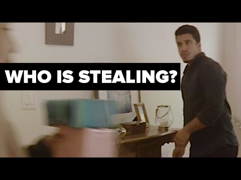 Can You Catch Who Is Stealing? (360° Video)