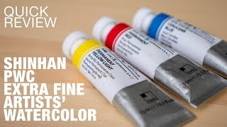 ShinHan PWC Extra Fine Watercolor (Review)