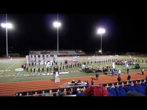 2018 WKHS Marching Band at TWHS OMEA Competition