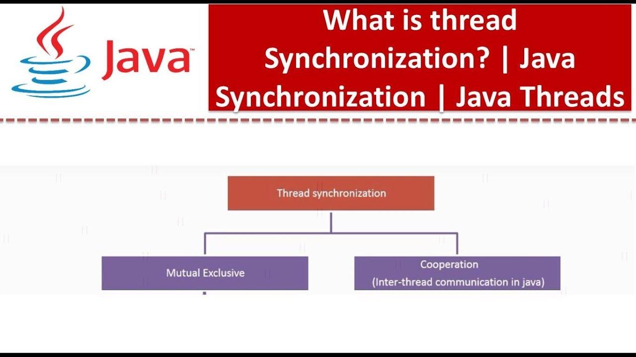 Java tutorial java synchronization synchronization in java java tutorial java synchronization synchronization in java thread synchronization baditri Gallery
