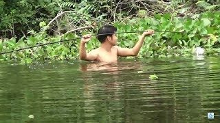 Fishing - the fish must always run