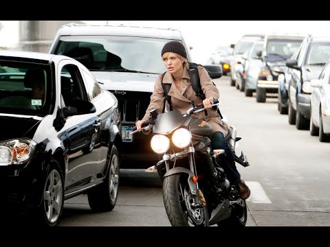 Angelina Jolie driven Triumph Street Triple R / SALT 2010