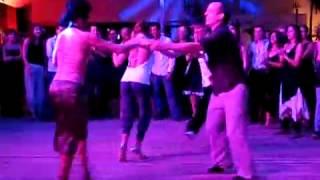 Horacio & Claudia  Julio & Noelia - Rocknroll tango ritual