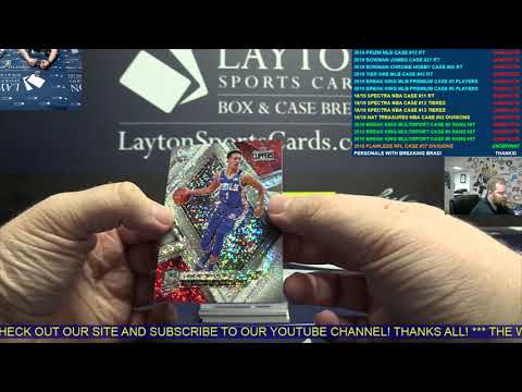 2018-19 Spectra NBA 2 Box Break for S Park