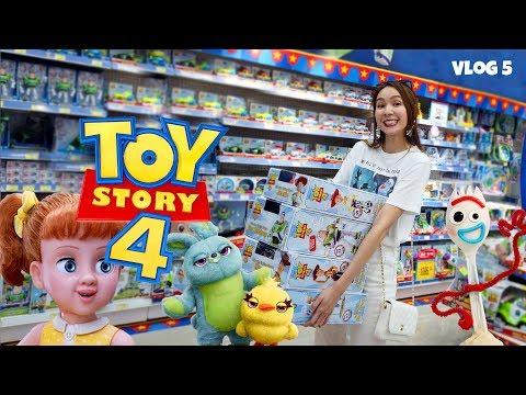Vlog #5 พาไป 3 ที่หาซื้อของ toy story พร้อมเปิดของสะสมให้ดู มีเงินเท่าไหร่ก็หมดพูดเลย!