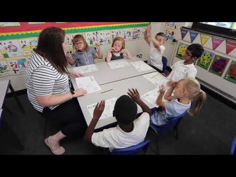 Jolly Phonics & Grammar at Rush Green Primary School