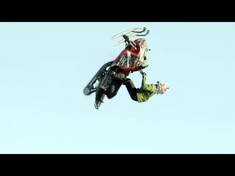 Snowmobile Double Backflip OMFG
