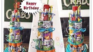 DIY 💗coole Geburtstagstorte 💗 für Teenies/Teenager/ eine etwas andere Torte ☺