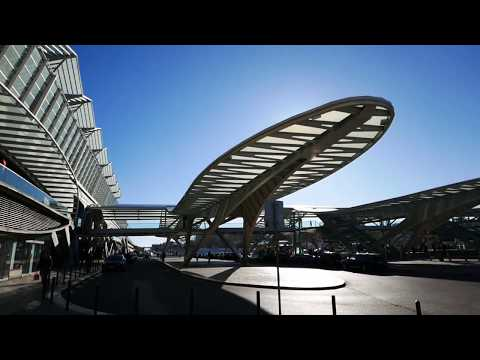 A Walk Through Calatrava's Gare do Oriente Train Station In Lisbon