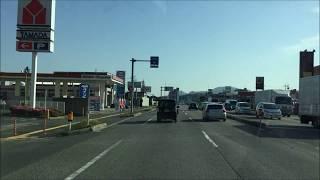 2017 山口県下関市 国道2-244 Drive