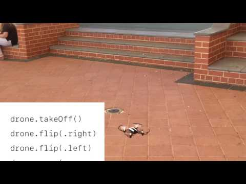 Swift programming with Parrot Mambo drone