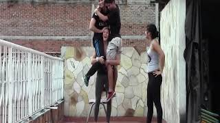 Carrying two guys on my shoulders comfortably - #LiftAGuyChallenge