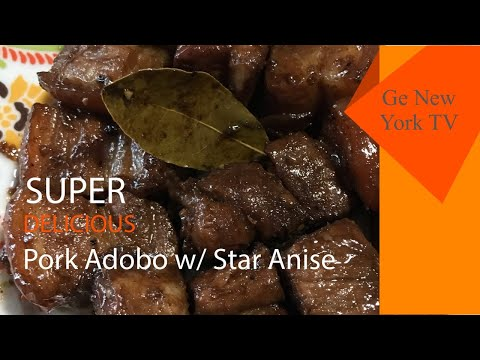 The Best Pork Adobo w/ Star Anise