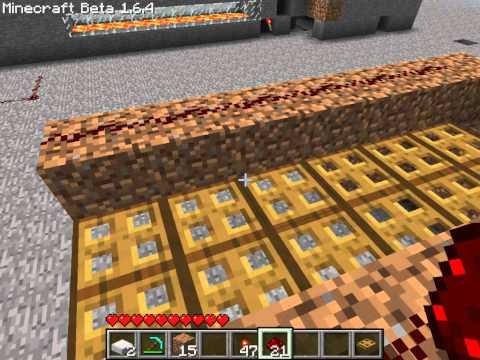 Minecraft Trapdoor Drawbridge Tips N' Tricks