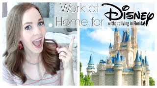 REAL WORK FROM HOME JOBS FOR STAY AT HOME MOMS! | NO SALES OR SURVEYS | WORK FOR DISNEY FROM HOME!