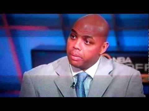 "Shaq Attacks Charles Barkley *LIVE* on TNT's ""Inside The NBA"""