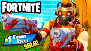 Star Lord Dual Wields and Gets a SOLO #1 Victory Royale! - Fortnite - Gameplay Part 80