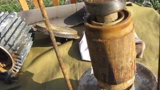 №23 насос БЦ 1,1-18 БоЦман HELZ заміна сальника уплатнения манжети (частина 3) ремонт