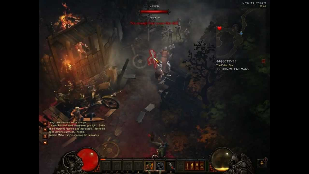 Diablo 3 Trailer Gameplay Barbarian Youtube