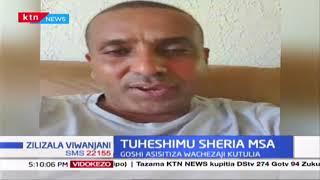 Tuheshimu Sheria Mombasa: Twaha Mbarak asema sheria lazima ifuatwe